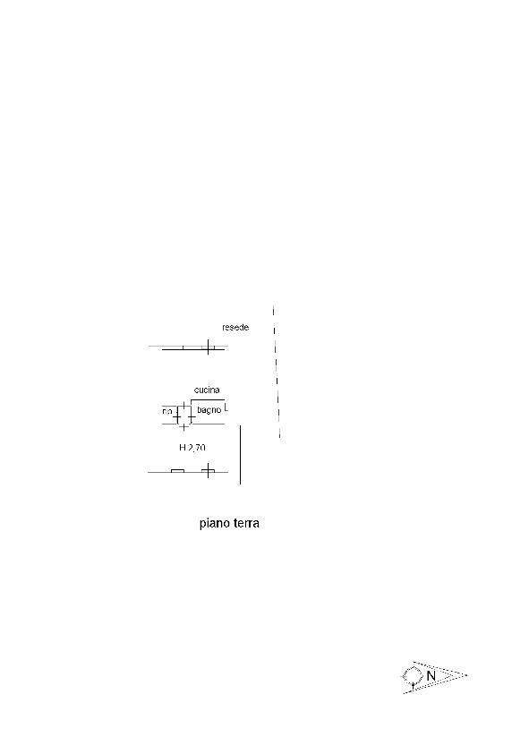 Planimetria 2/2 per rif. M1525