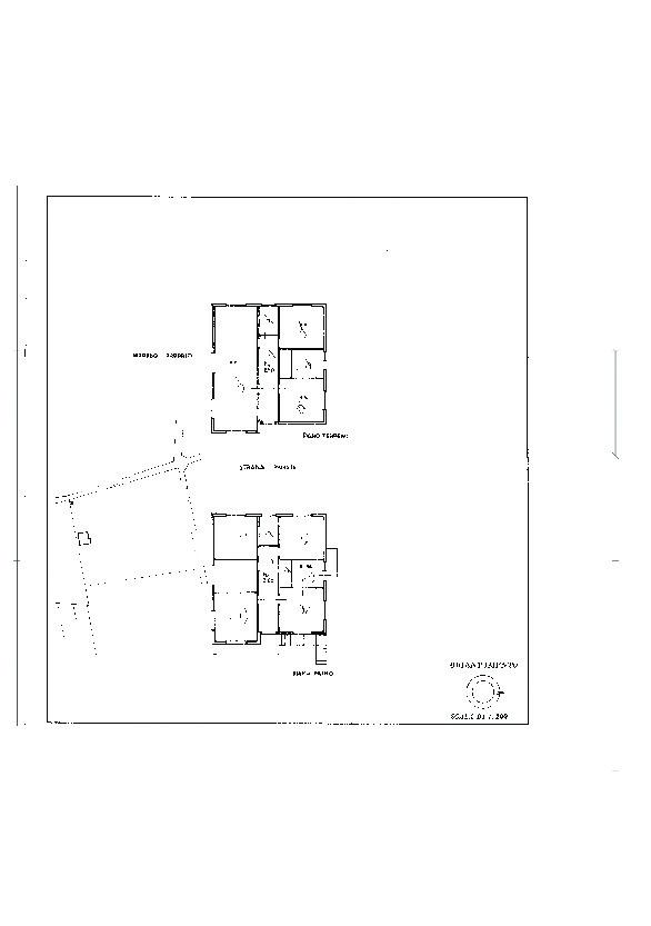 Villa singola in vendita, rif. 02456 (Planimetria 3/4)