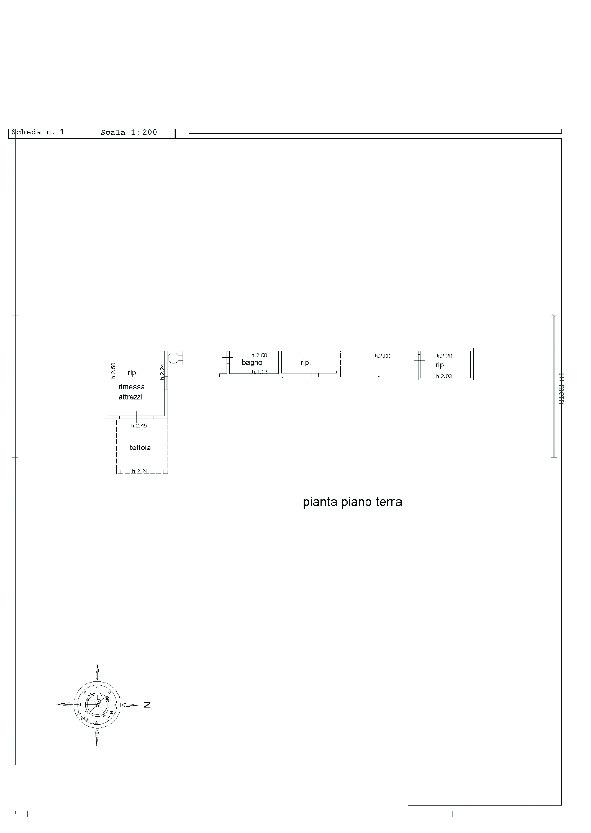Villa singola in vendita, rif. 02456 (Planimetria 4/4)