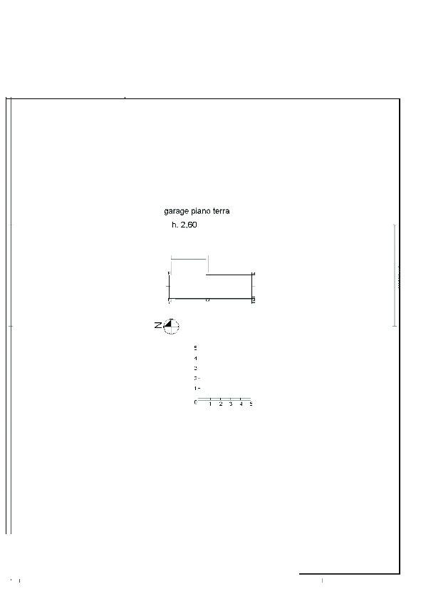 Planimetria 1/2 per rif. 7775/BD
