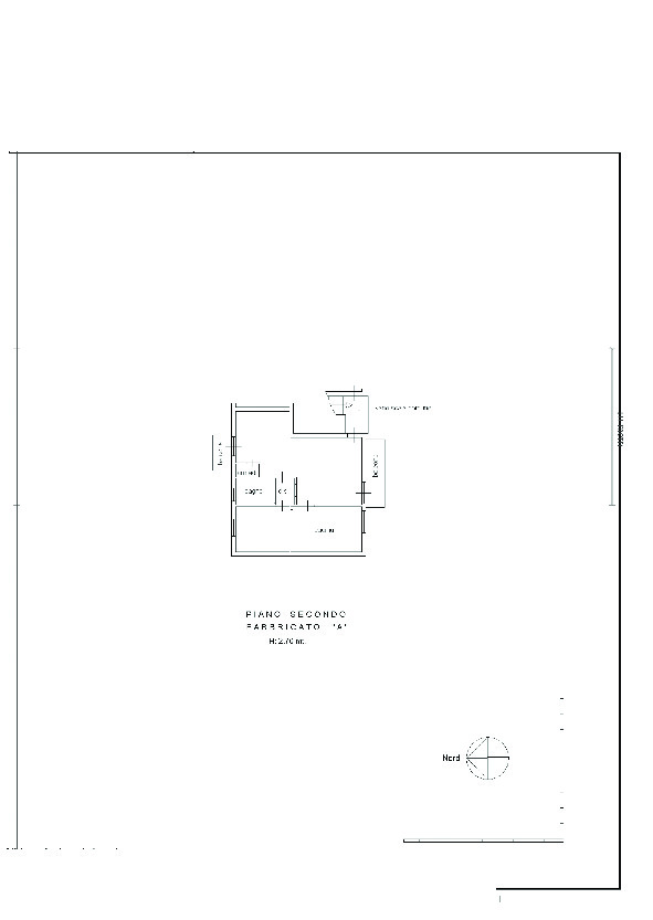 Planimetria 2/2 per rif. 7775/BD