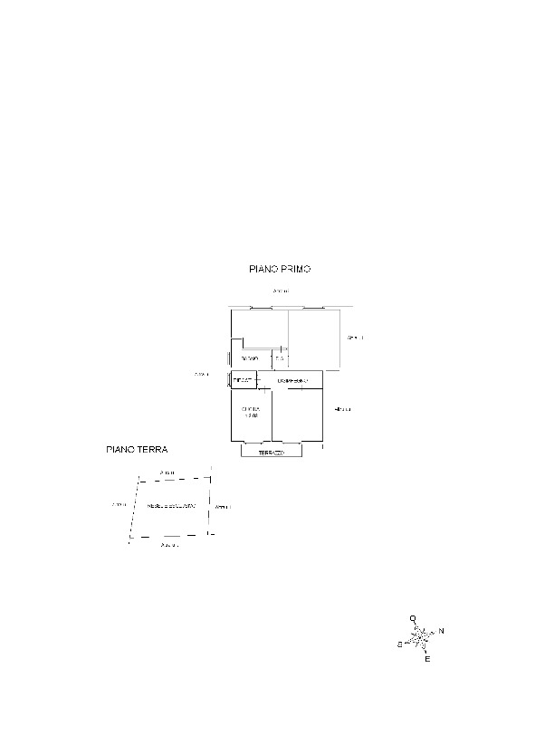 Planimetria 1/2 per rif. 7574/BD