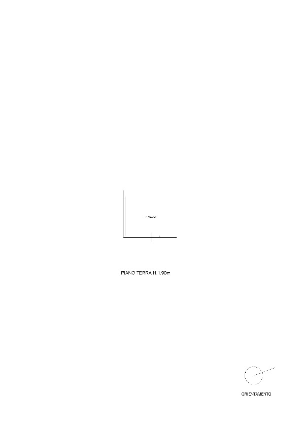 Planimetria 2/2 per rif. 7574/BD