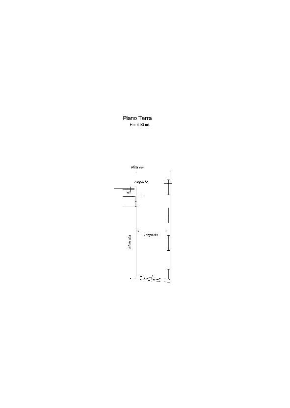 Planimetria 1/1 per rif. 7843BD-1