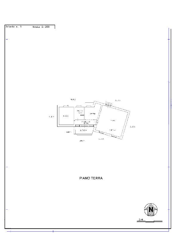 Planimetria 1/3 per rif. 1130