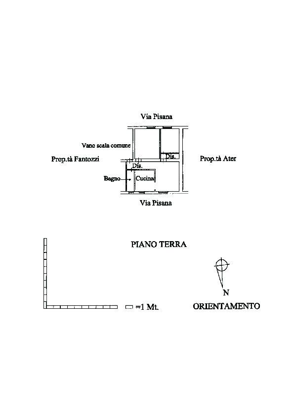 Planimetria 1/1 per rif. 6693/BD