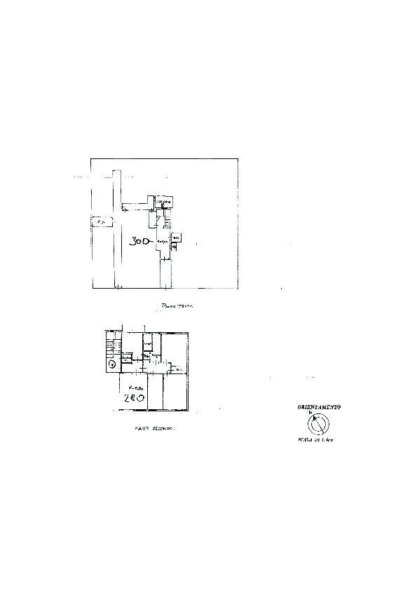 Planimetria 1/1 per rif. 7393/BD