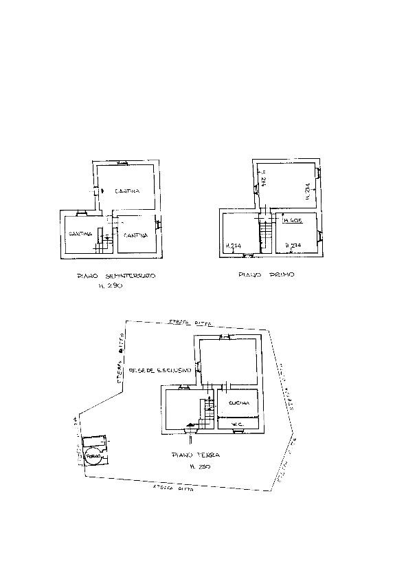 Rustico in vendita, rif. 02324 (Planimetria 3/3)
