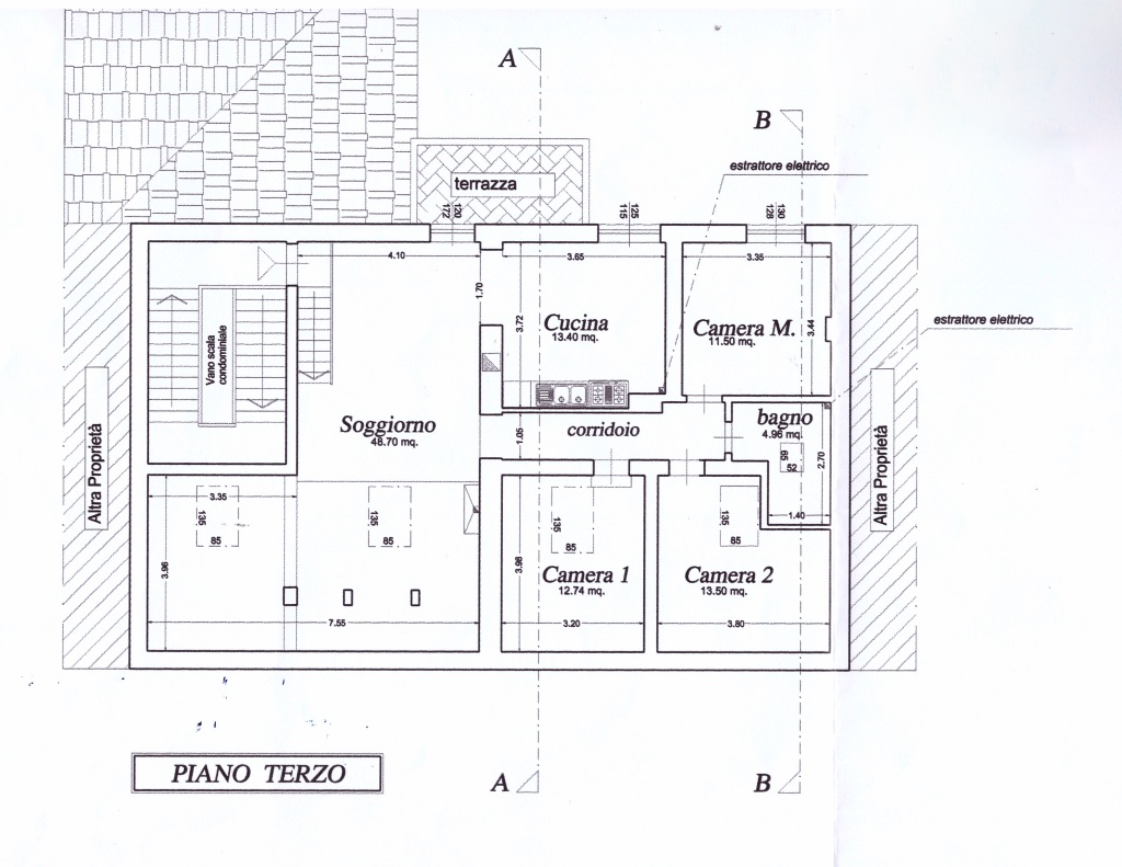 Planimetria 1/1 per rif. FGA-184
