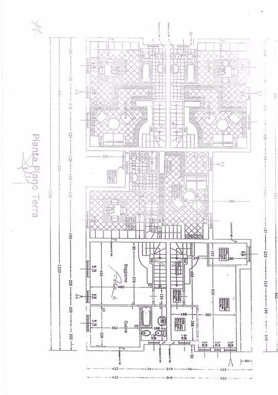 Planimetria 2/4 per rif. FGA-252