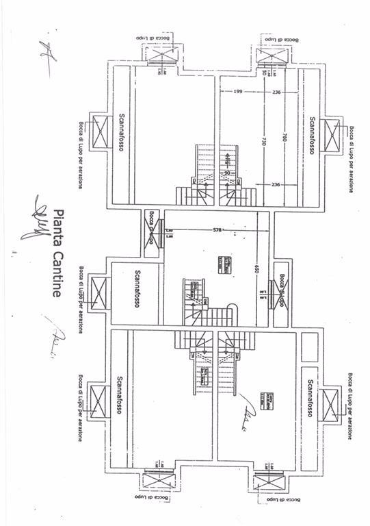 Planimetria 3/4 per rif. FGA-252