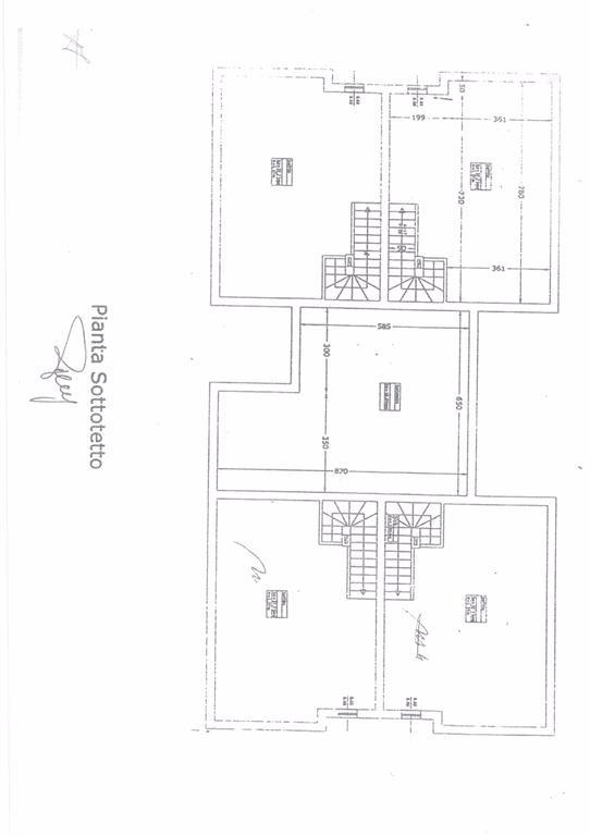 Planimetria 1/4 per rif. FGA-252