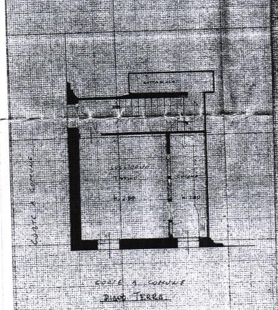Planimetria 1/3 per rif. 487