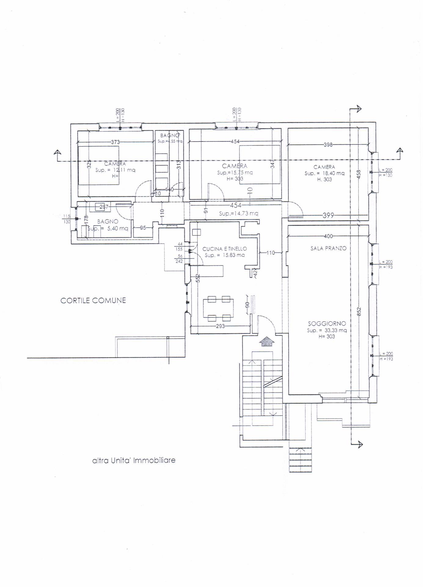 Planimetria 1/1 per rif. 432EE