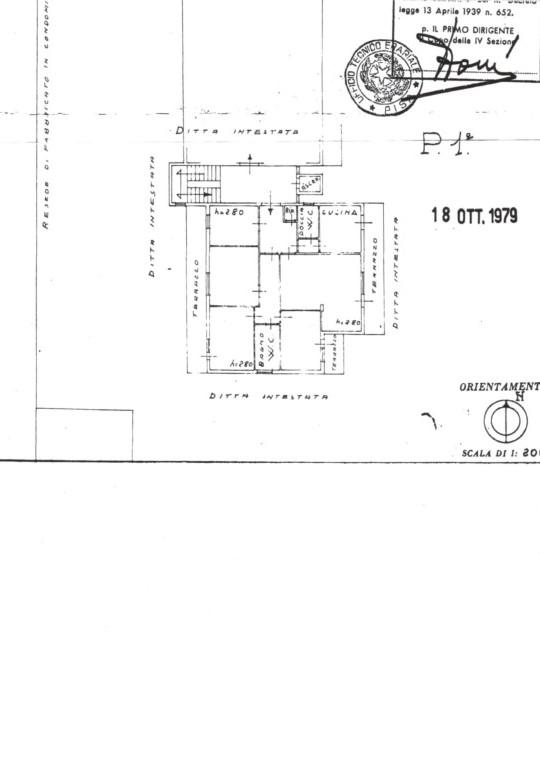 Planimetria 1/1 per rif. 968S