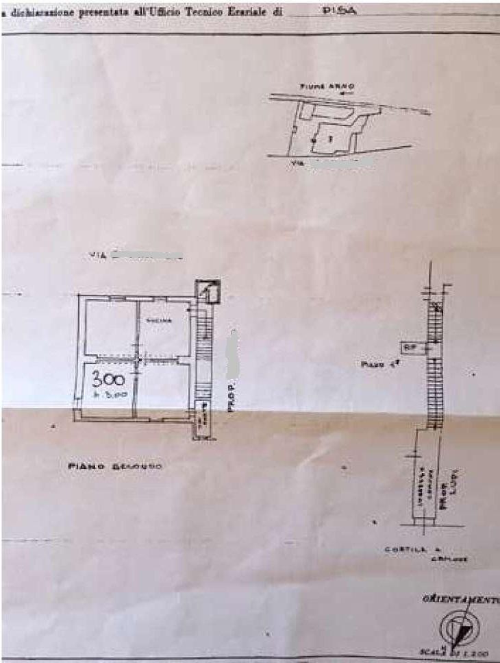 Planimetria 1/1 per rif. 977E
