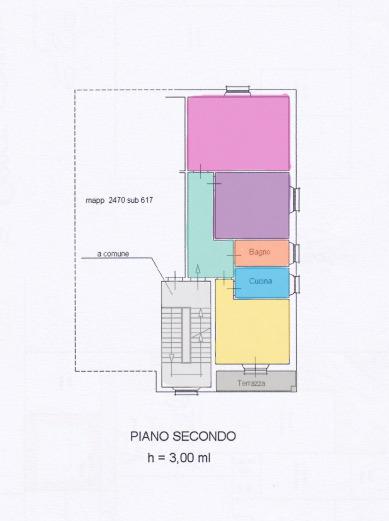 Planimetria 1/1 per rif. A158