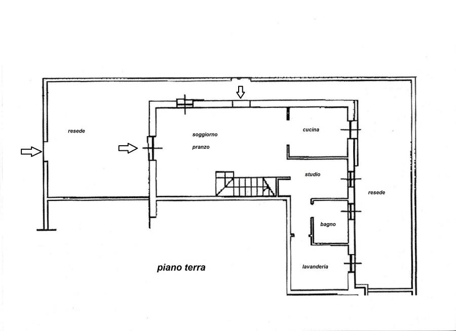 Planimetria 1/2 per rif. R/2980