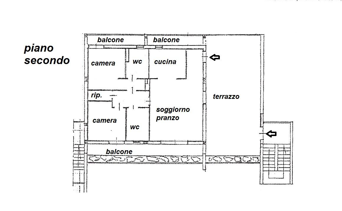 Planimetria 1/1 per rif. R/2968