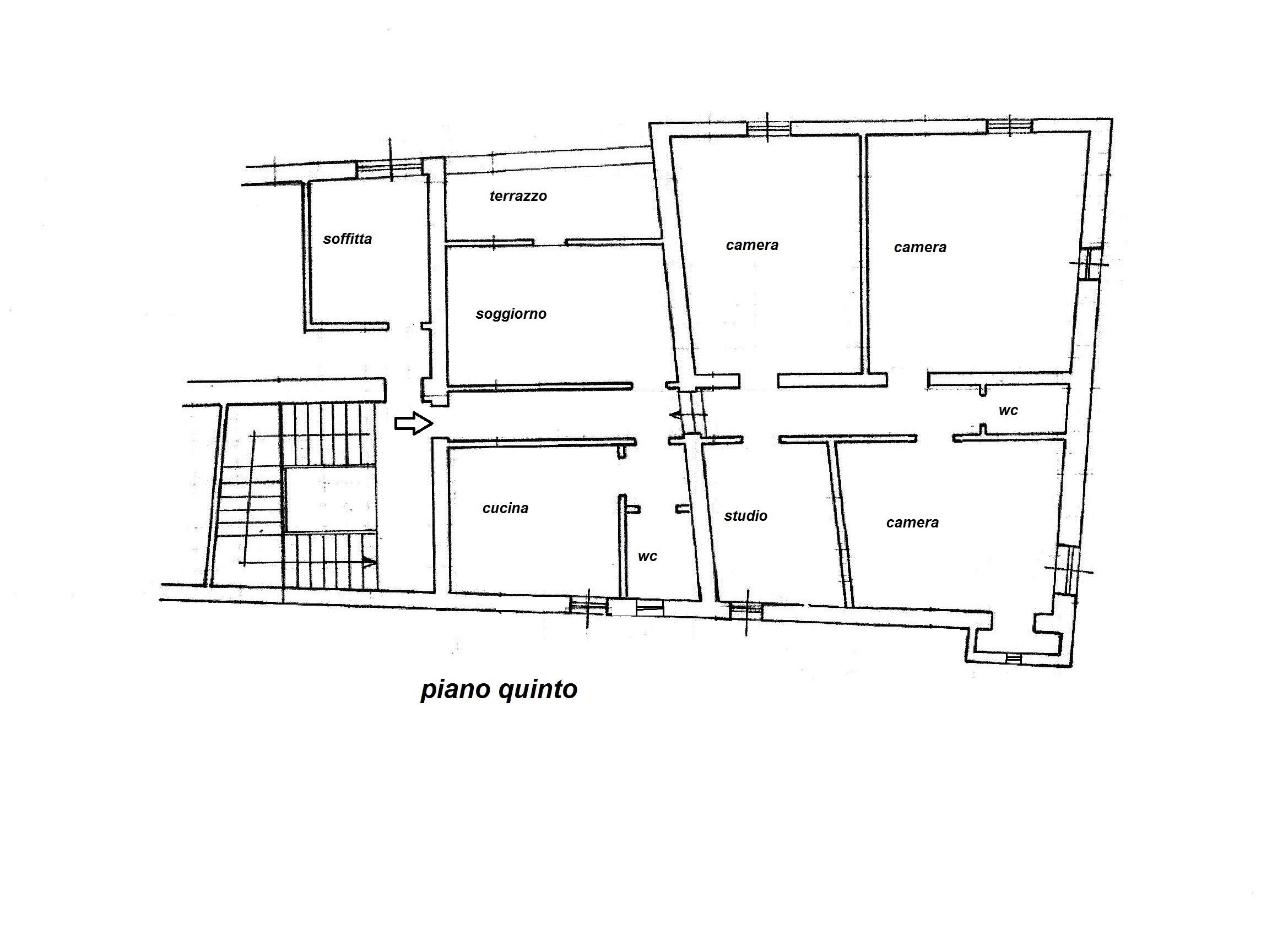 Planimetria 1/1 per rif. R/3030