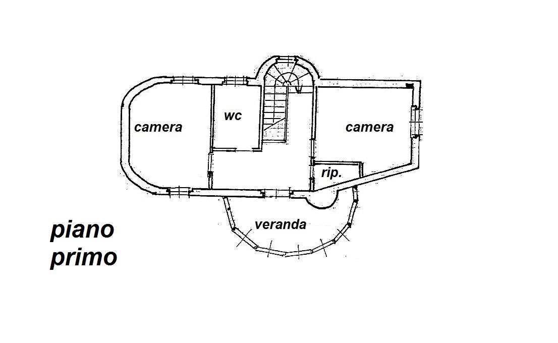 Planimetria 2/3 per rif. R/3071