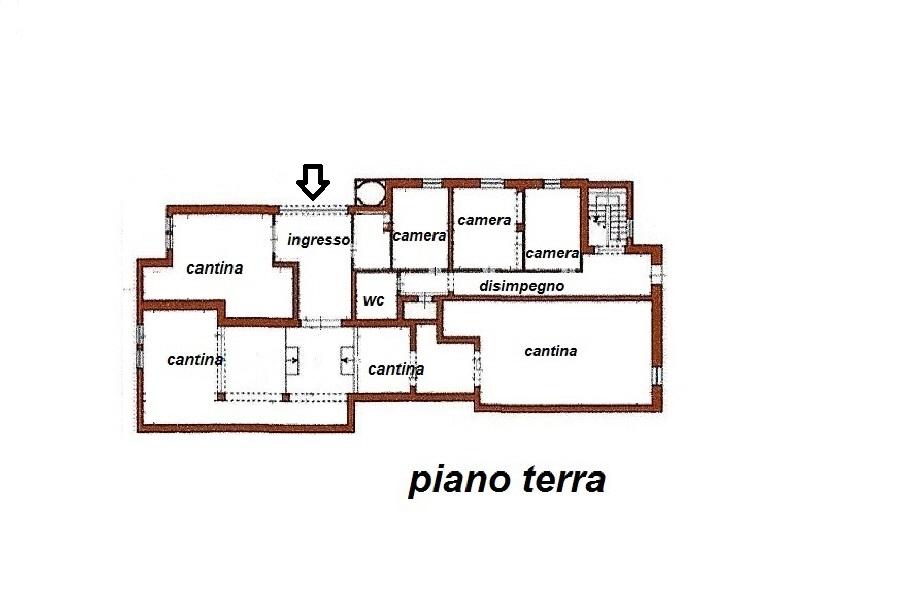 Planimetria 1/3 per rif. R/3072