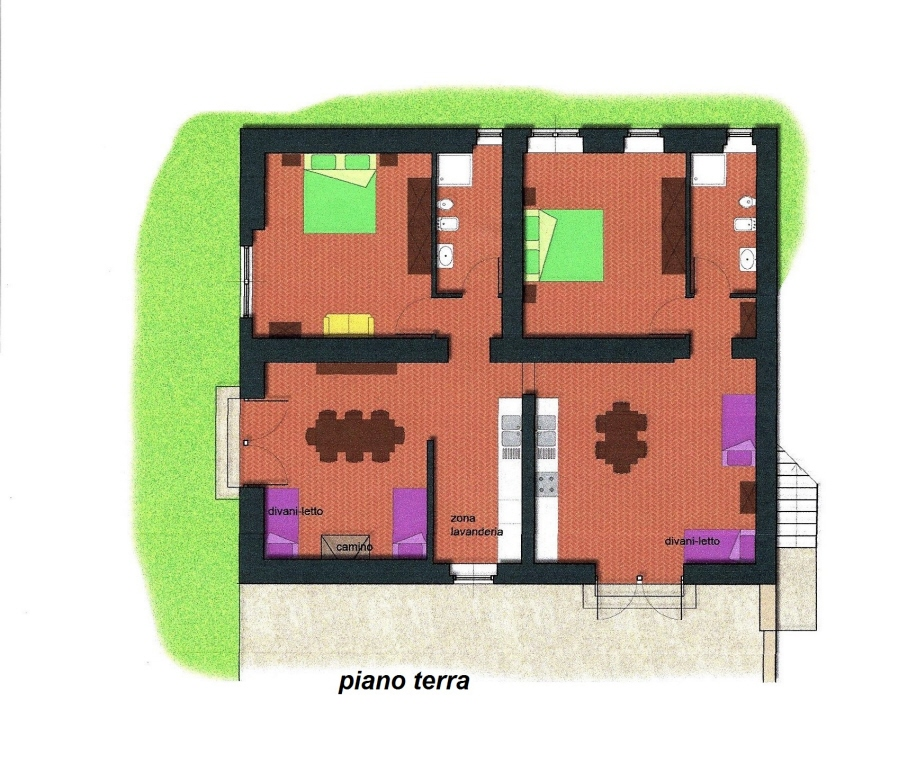Planimetria 1/3 per rif. R/3089