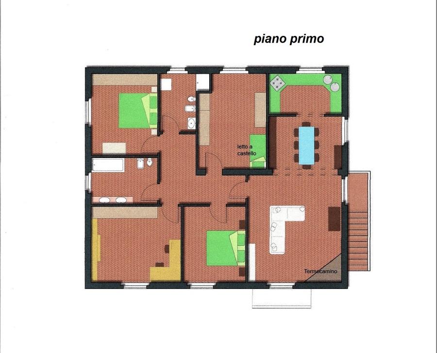 Planimetria 2/3 per rif. R/3089