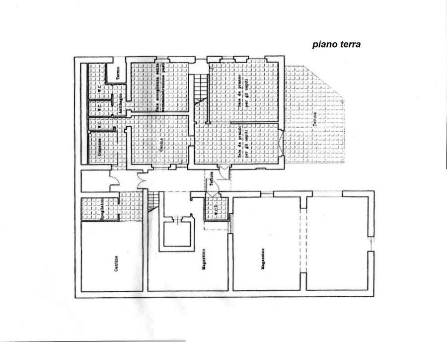 Planimetria 1/2 per rif. C/2892