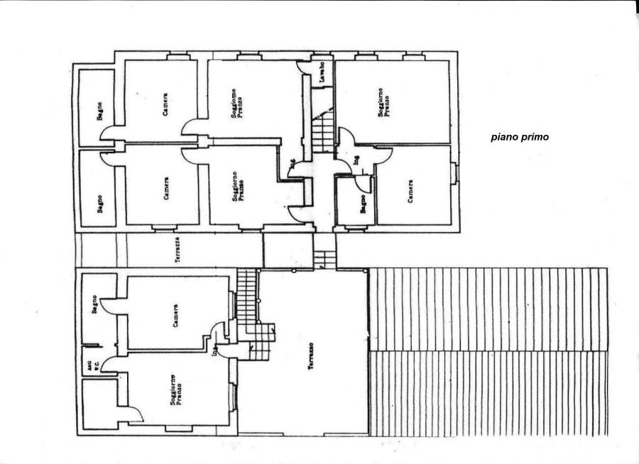 Planimetria 2/2 per rif. C/2892