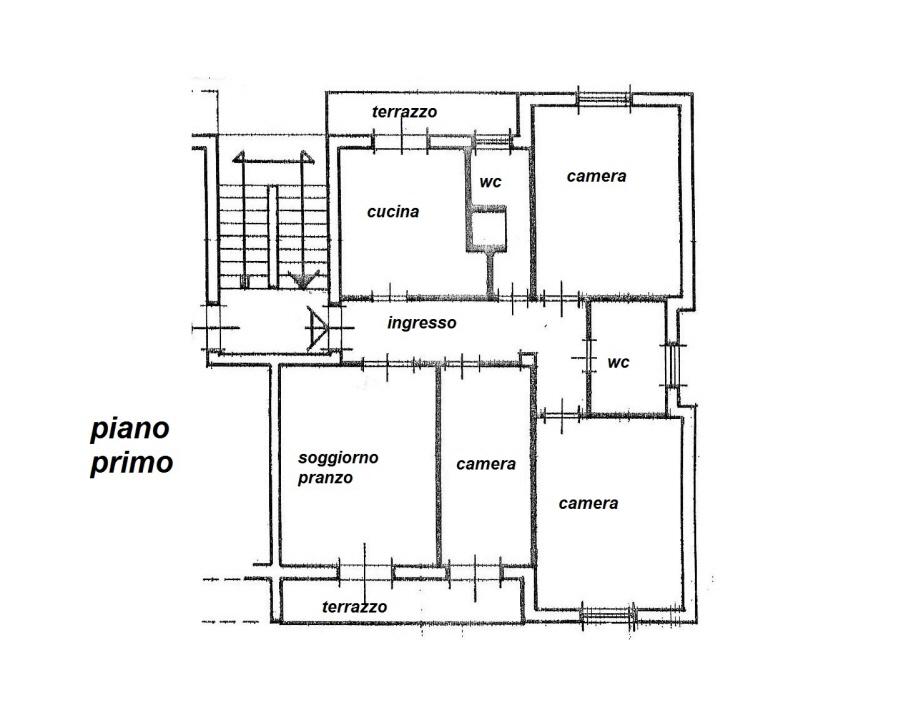 Planimetria 1/1 per rif. R/3075