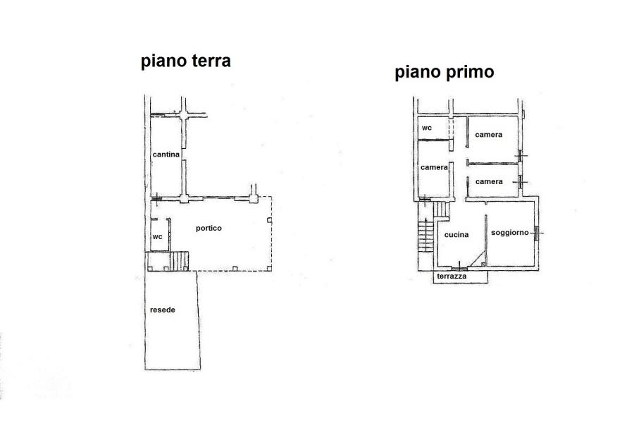 Planimetria 1/1 per rif. R/3131
