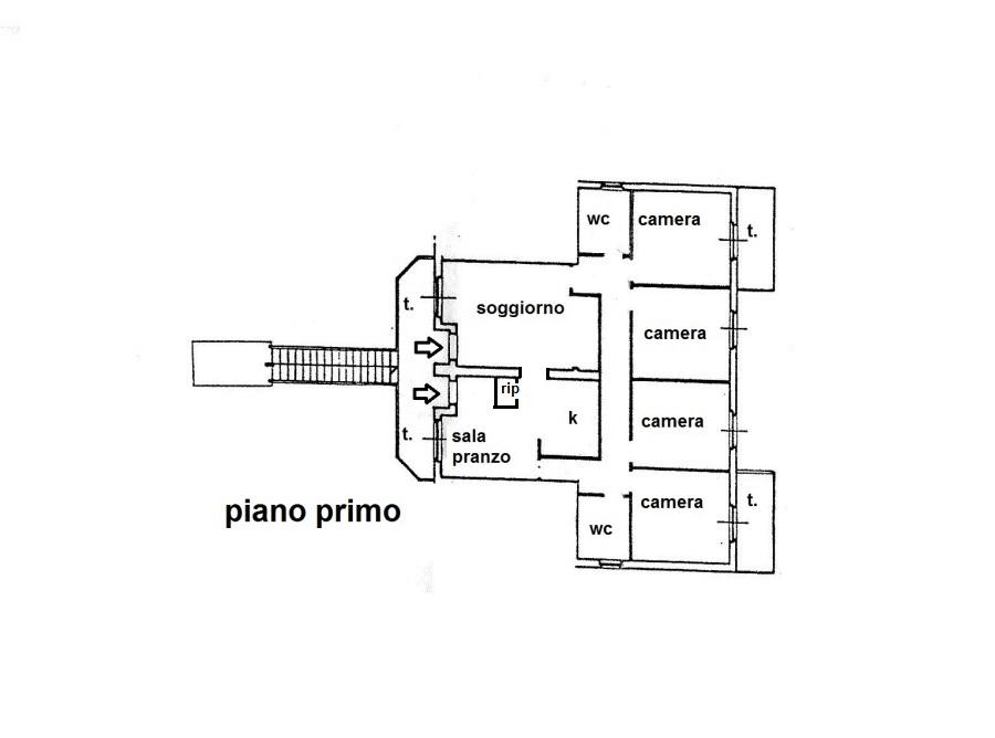 Planimetria 1/1 per rif. R/3144