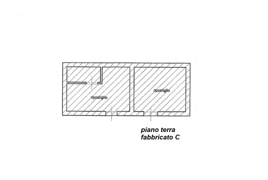 Planimetria 5/5 per rif. C/2986