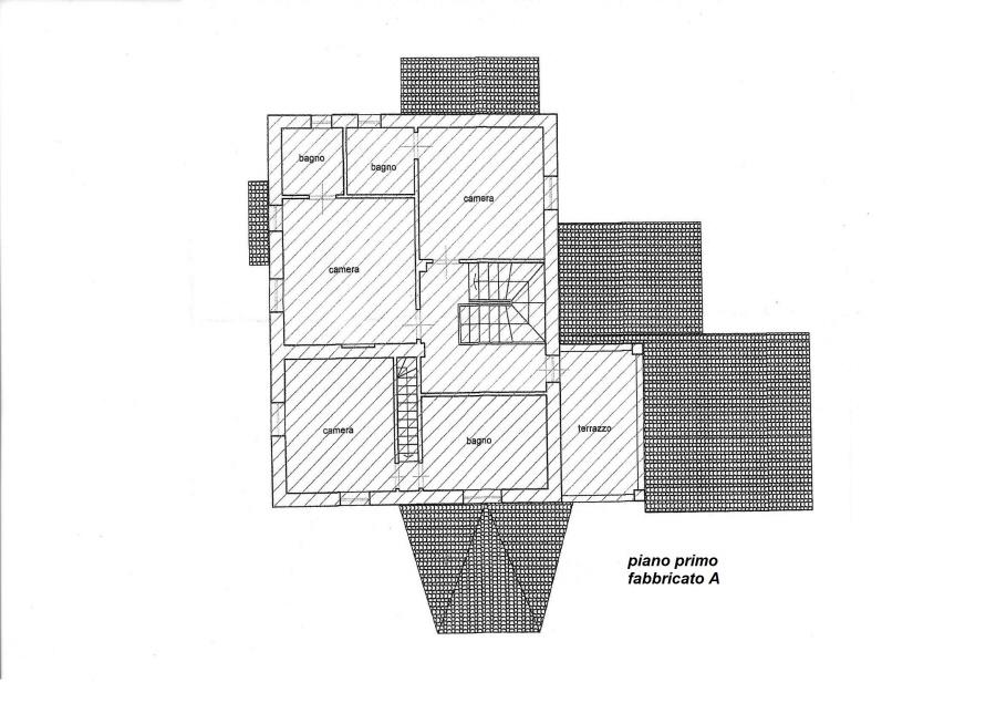 Planimetria 2/5 per rif. C/2986