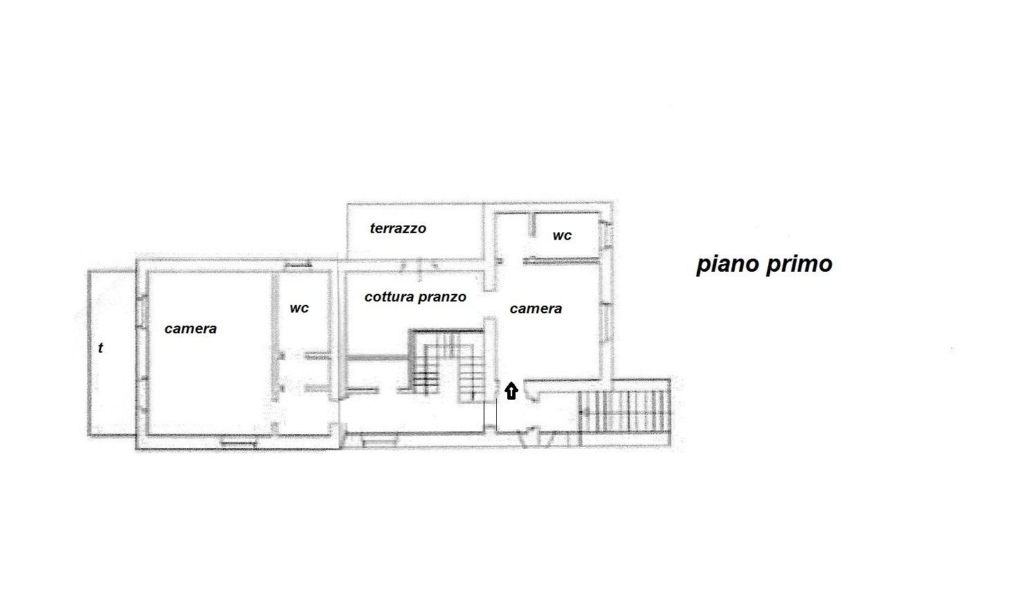 Planimetria 2/3 per rif. R/2807