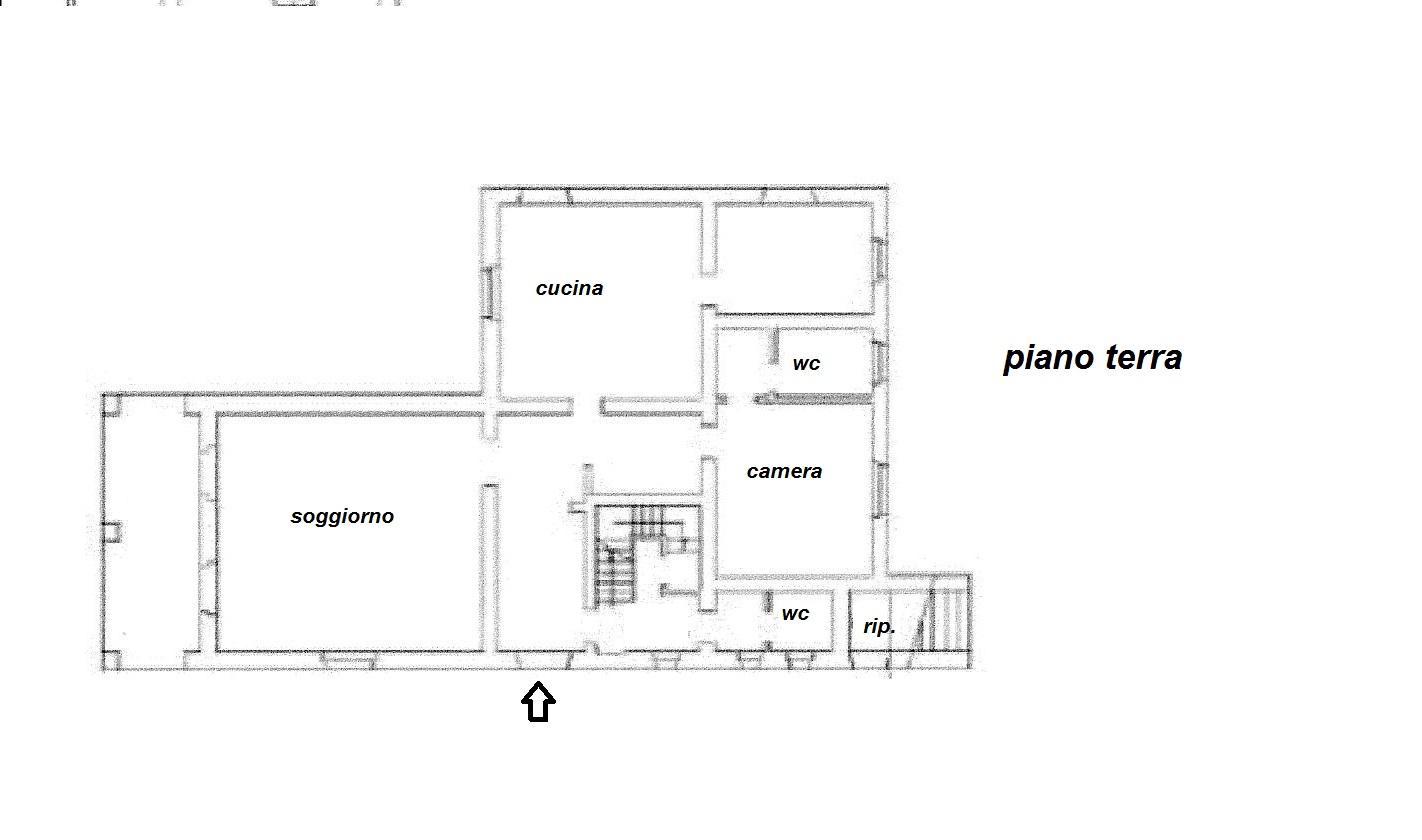 Planimetria 1/3 per rif. R/2807