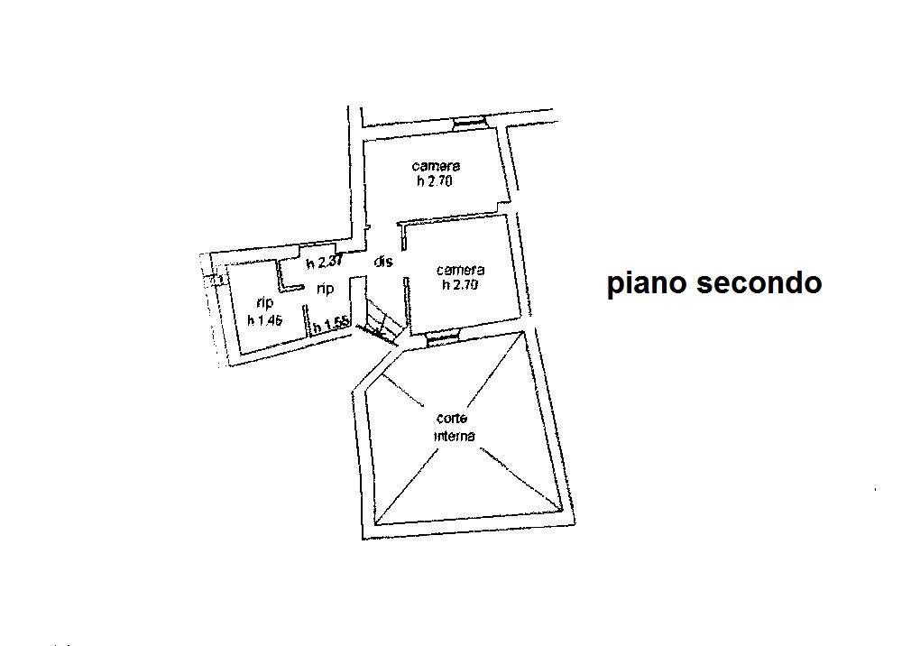 Planimetria 1/3 per rif. R/2747