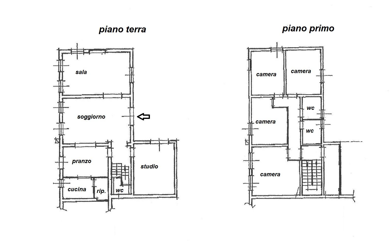 Planimetria 1/1 per rif. R/2887