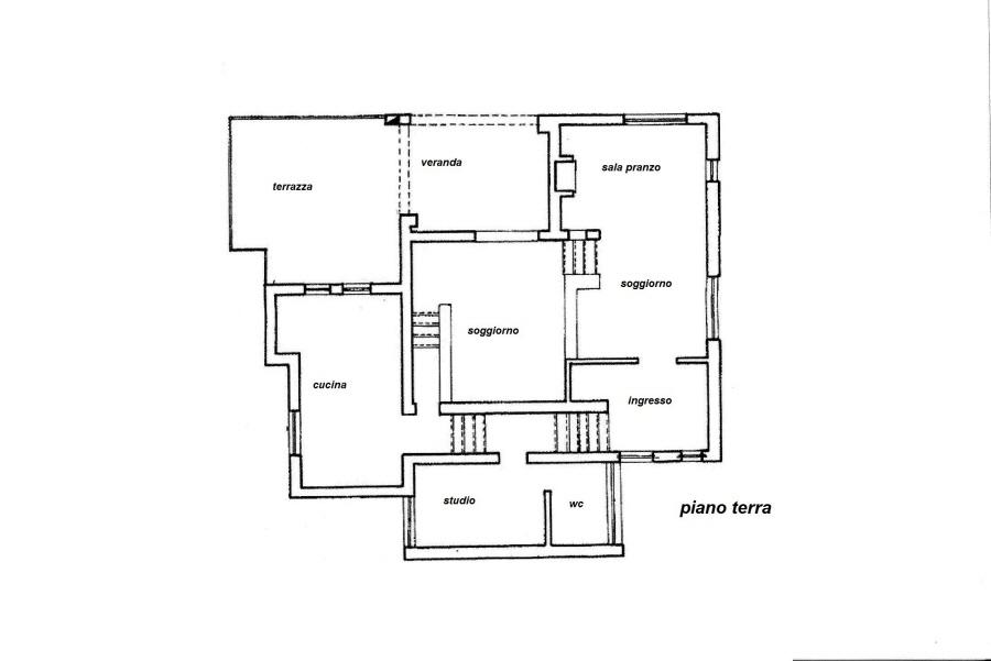 Planimetria 1/3 per rif. R/3022