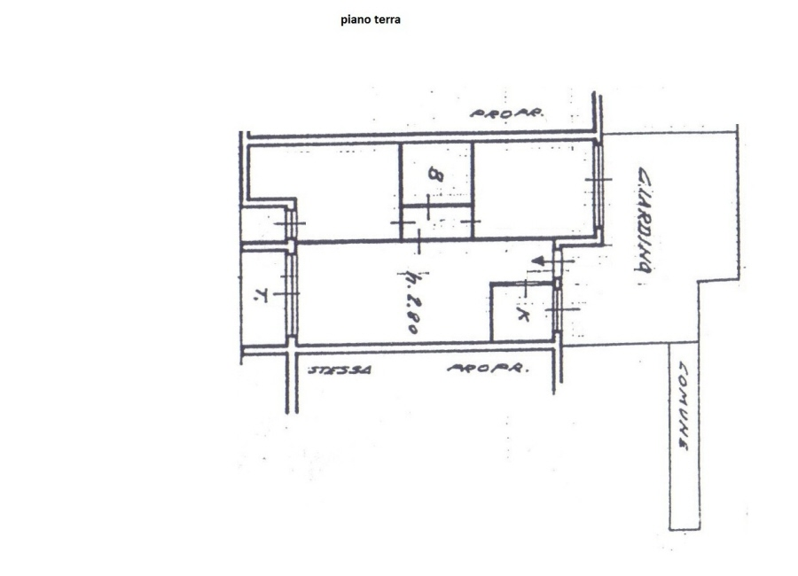 Planimetria 1/1 per rif. R/1066