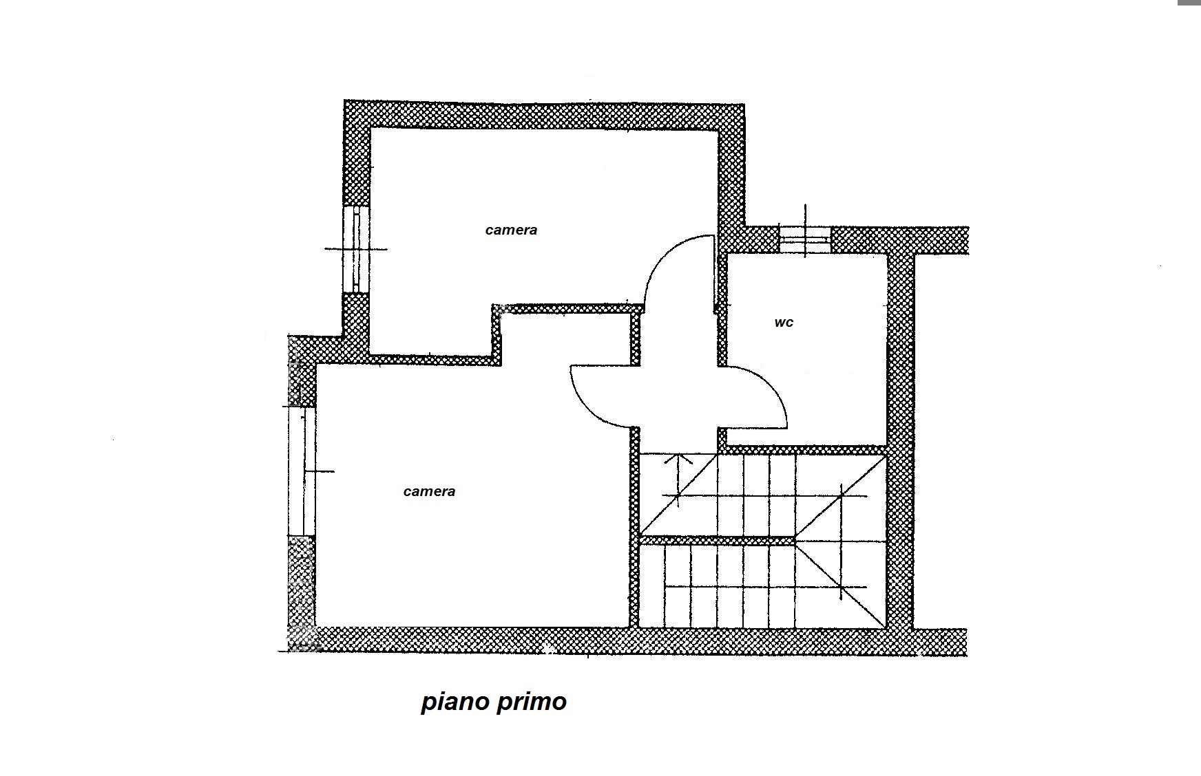 Planimetria 2/2 per rif. R/2782
