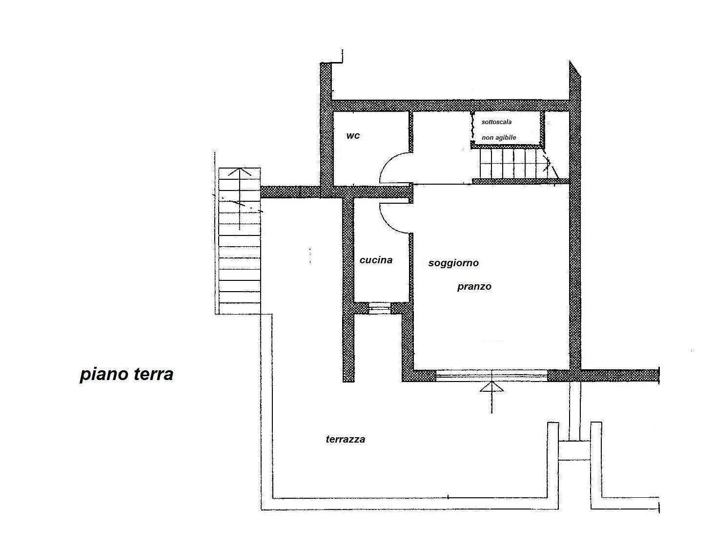 Planimetria 1/2 per rif. R/2782
