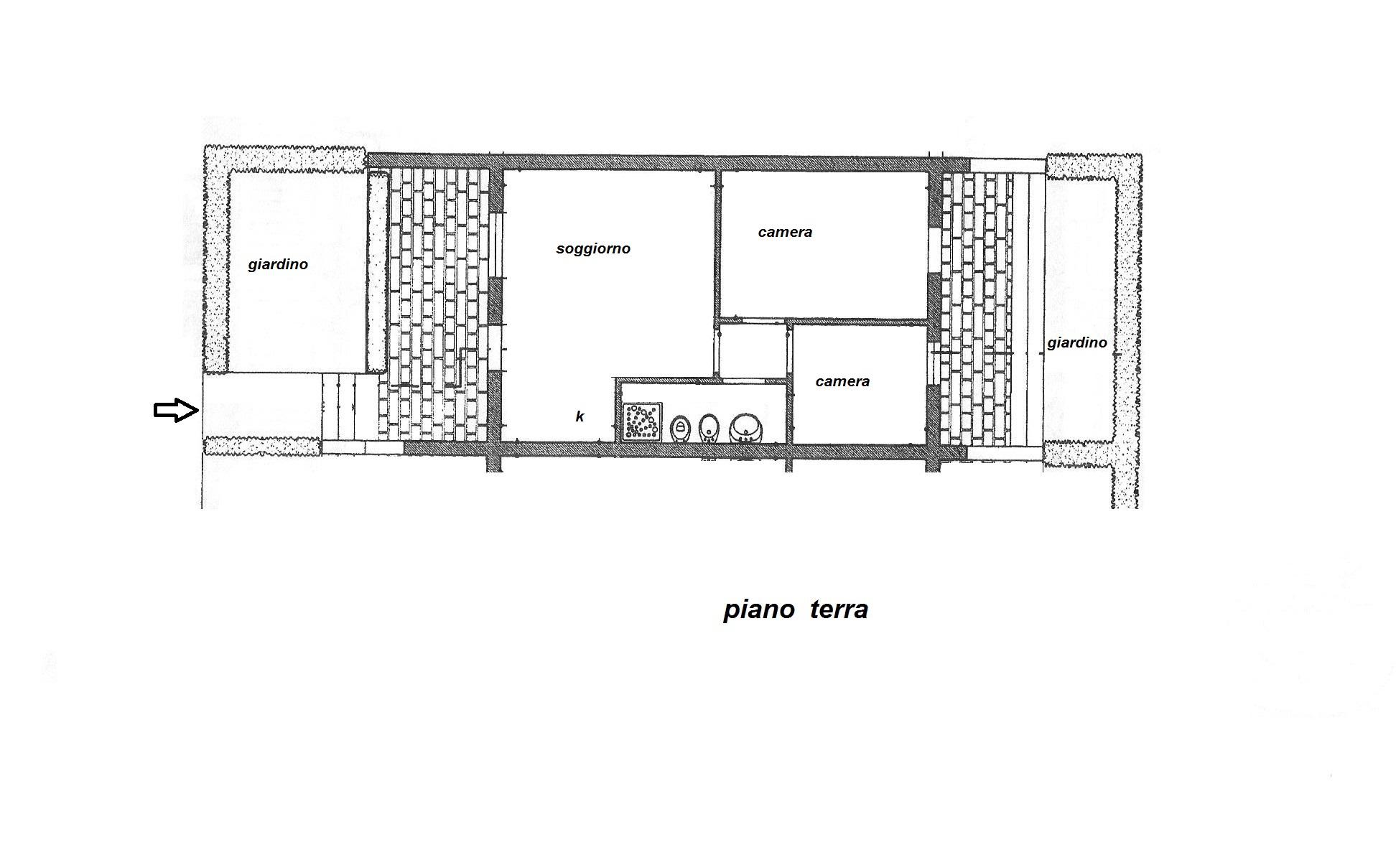 Planimetria 1/1 per rif. R/2867