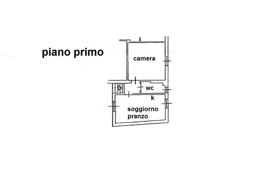Planimetria 1/1 per rif. R/3160