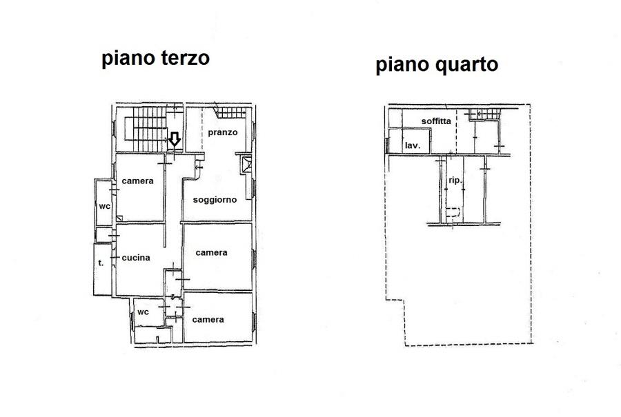 Planimetria 1/1 per rif. R/3161