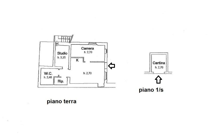 Planimetria 1/1 per rif. R/3168