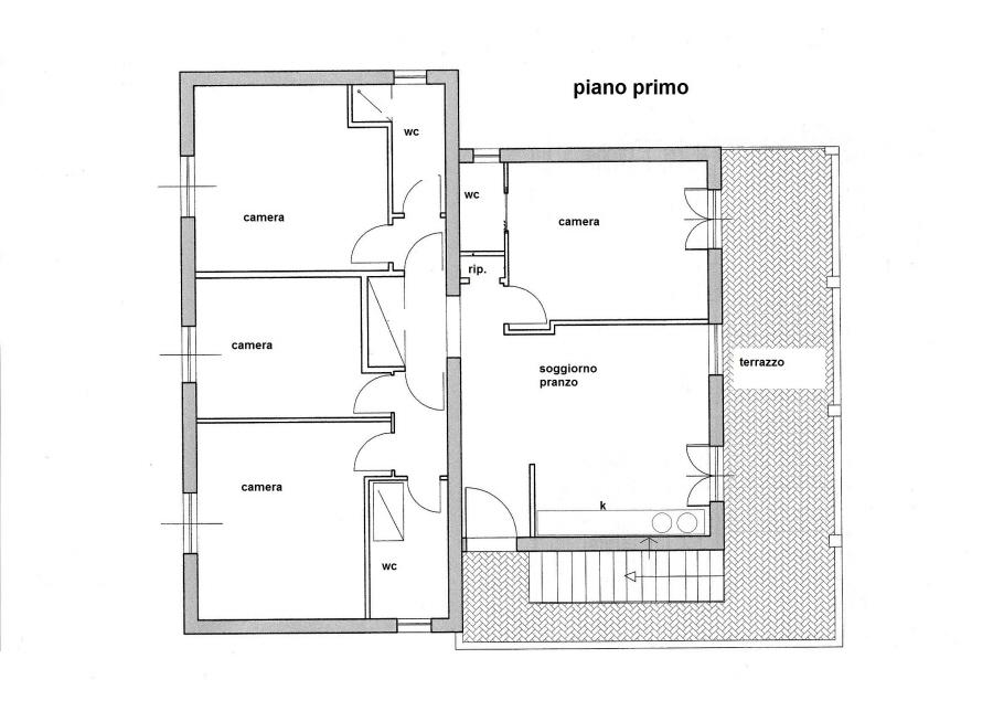 Planimetria 2/2 per rif. R/3198