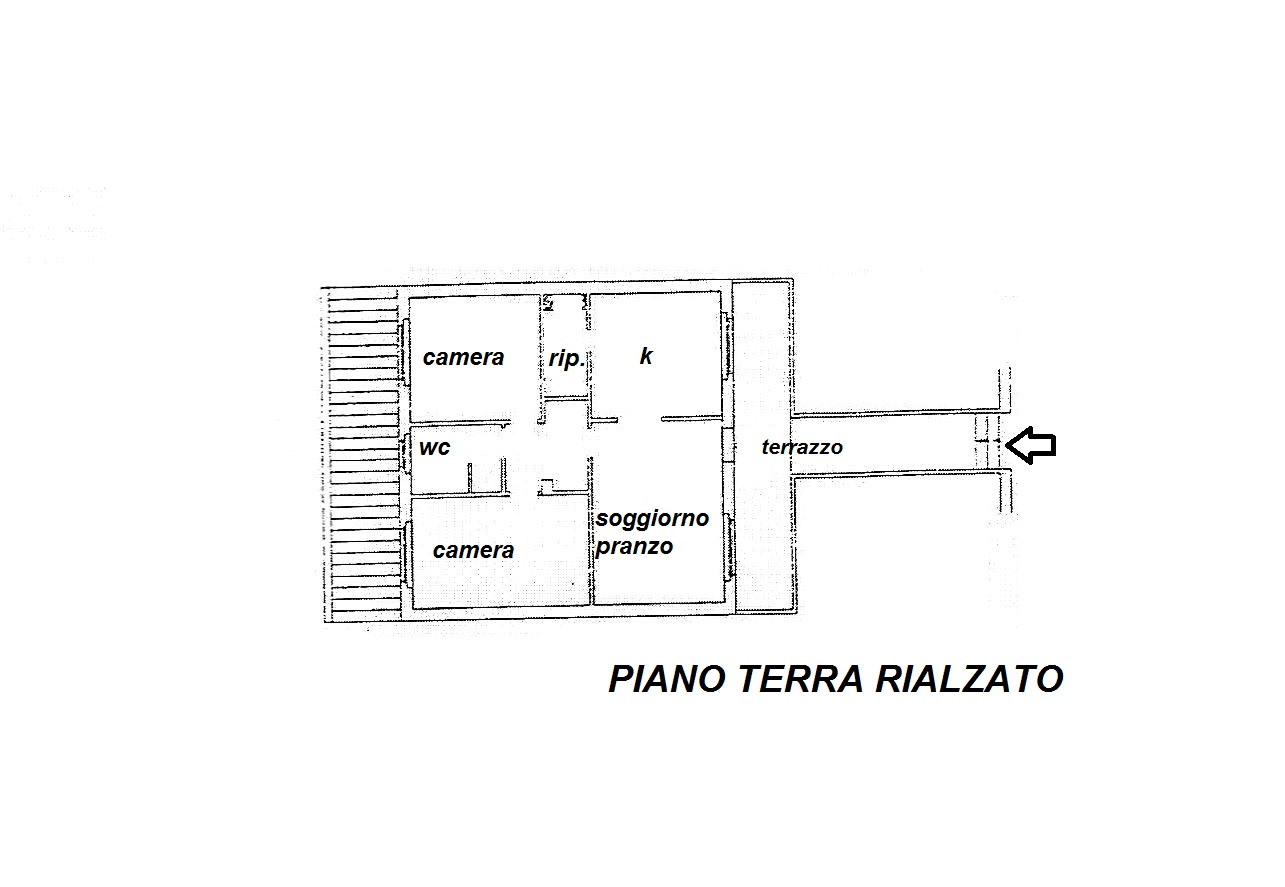 Planimetria 1/1 per rif. R/3218
