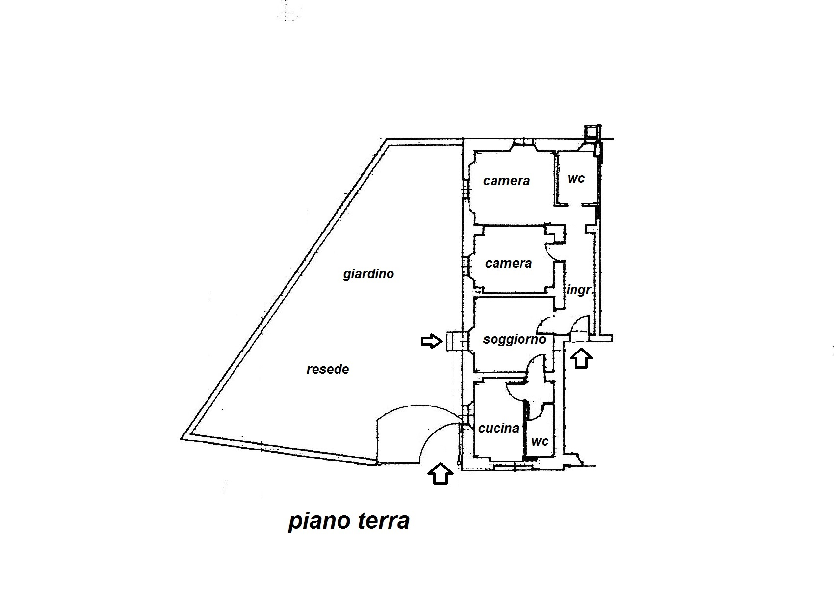 Planimetria 1/1 per rif. R/3231